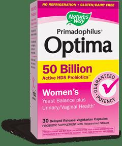 Nature's Way | Primadophilus Optima Women's 50 Billion (30 Vcaps) -10557