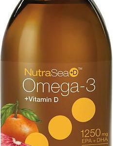 Ascenta | NutraSea hp +D | Omega -3 (Grapefruit Tangerine) 120 mL -11621