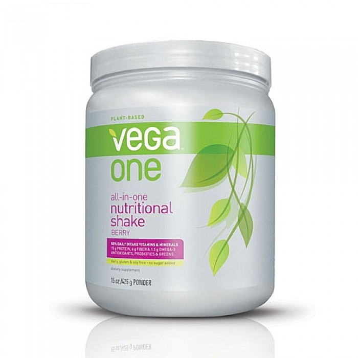 Vega One All-in-One Nutritional Shake Mixed Berry 425g Powder