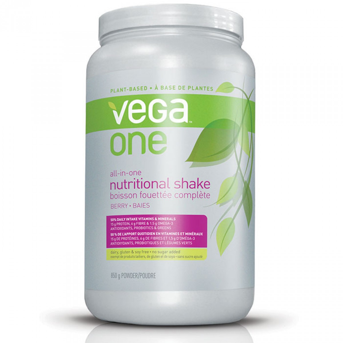 Vega One All-in-One Nutritional Shake Mixed Berry 850g Powder