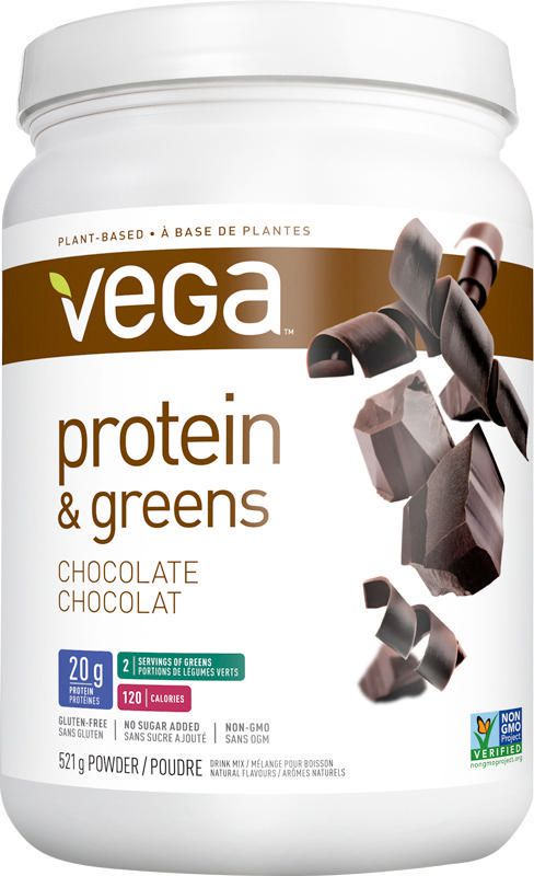 Vega Protein & Greens Chocolate 521g powder