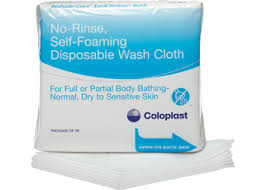 coloplast bedside-care easi-cleanse disposable wash cloth