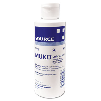 source medical muko lubricating jelly