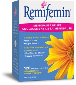 Nature's Way 11001 Remifemin®, Black Cohosh 120 Tablets Canada