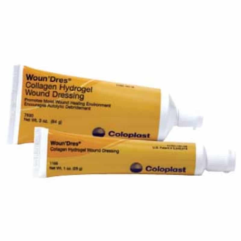 coloplast woundres collagen hydrogel
