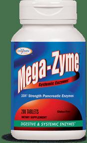 enzymatic therapy mega zyme pancreatin 10x