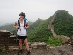 Julie Singer | Great Wall of China with IBD Adventures