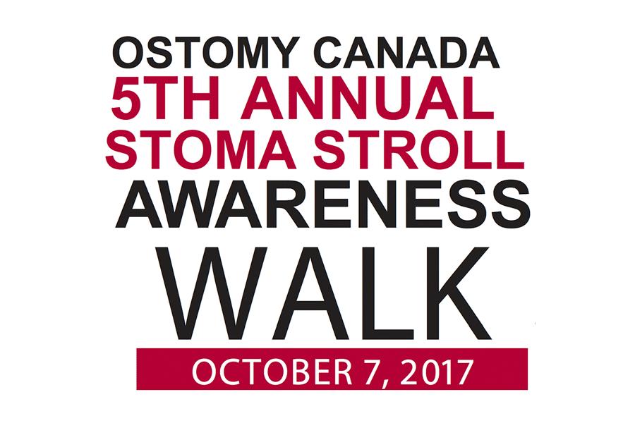 Ostomy Day for Ostomy Canada - Stoma Stroll Details 2017