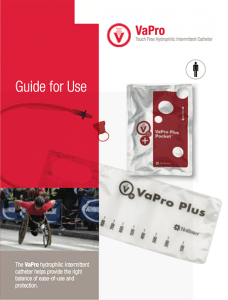 How to Use VaPro Plus Pocket Intermittent Catheter - Product Numbers: 71082-30, 71084-30, 71102-30, 71104-30, 71122-30, 71142-30, 71144-30, 71164-30,