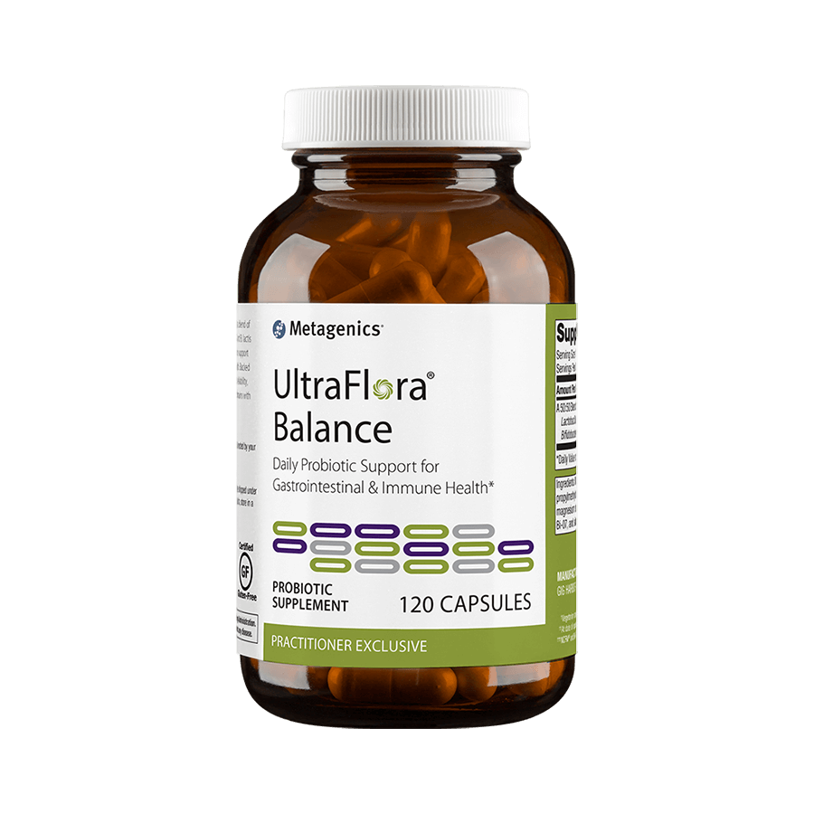 Metagenics Ultraflora Balance Canada Probiotic - 120 capsules Canada - Shop Online at InnerGood.ca