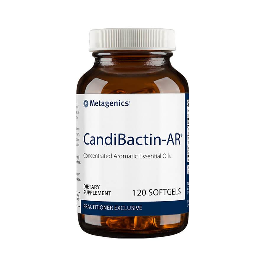 Metagenics Candibactin AR Canada - 120 Soft Gels - InnerGood.ca