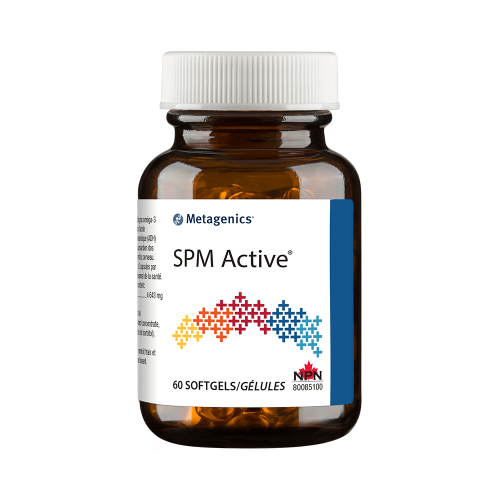 SPM Active 60 softgels canada