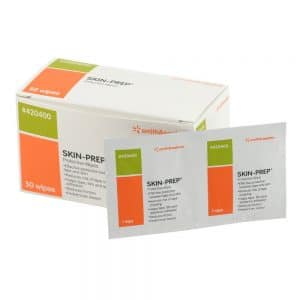 smith & nephew sn420400 skin prep wipes (box of 50) - canada