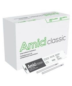 "Amici 3916 - Classic 16"" Male Nelaton Intermittent Catheters, 16 French, Box of 100 Canada"