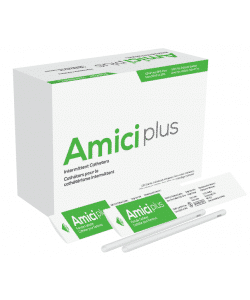 "Amici 5616 Plus - 7"" Female Intermittent Catheters, 16 French Box of 100 Canada"