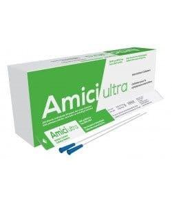 """Amici Ultra 7908 - 16"""" Male Nelaton Intermittent Catheters, 8 French, Box of 100 Canada"""