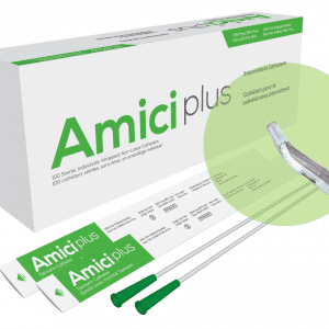 AMICI 5714 - AMICI PLUS TIEMANN TIP INTERMITTENT CATHETER - BOX OF 100, SIZE 14FR 16IN Canada