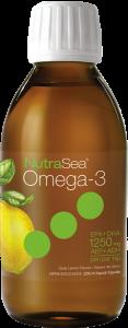NutraSea® Omega-3, Lemon | 200 ml Liquid