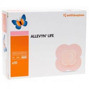 Smith & Nephew Allevyn Life Silicone Gel Adhesive Composite Hydrocellular Foam Dressing Box of 10 Canada