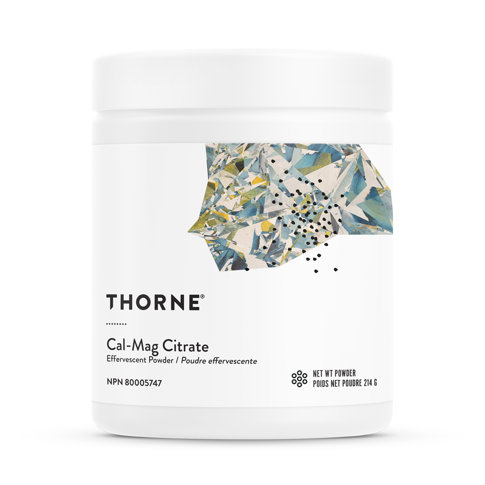 Thorne Cal-Mag Citrate Effervescent Powder Canada