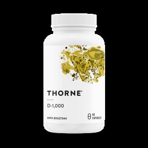 Thorne Vitamin D-1000 90 Capsules Canada