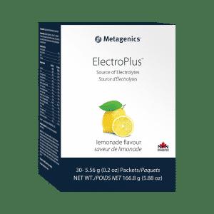 Metagenics ElectroPlus lemonade flavour Canada