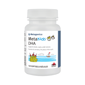 Metagenics MetaKids DHA 120 Softgels Canada