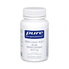PE Alpha Lipoic Acid 400 mg 60 Veg Capsules Canada
