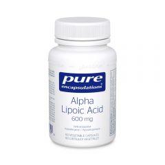 PE Alpha Lipoic Acid 600 mg 60 Veg Capsules Canada