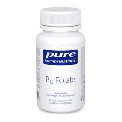 PE B12 Folate 60 Vegetable Capsules Canada