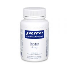 PE Biotin 8 mg 120 Vegetable Capsules Canada