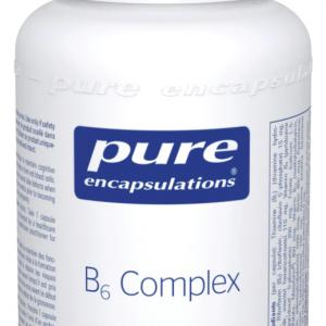 Pure Encapsulations B6 Complex   60 Veg Caps   Inner Good   Canada