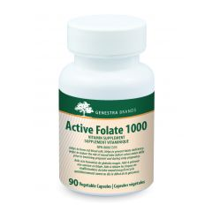 Genestra Active Folate 1000 90 Vegetable Capsules - Genestra Canada