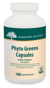 Genestra Phyto Greens Capsules 180 Vegetable Capsules Canada