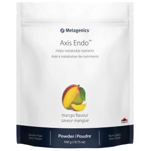 Metagenics Axis Endo 560 g Powder Mango flavour Canada