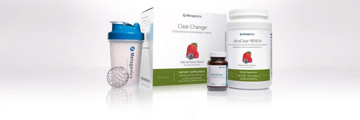 Metagenics Clear Change Kit 10 Day Detox Program Berry