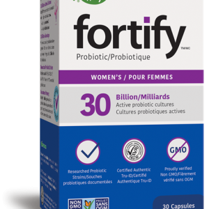 Nature's Way 10863 Fortify Women's Probiotic 30 Capsules Canada