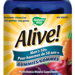 Nature's Way 11179 Alive! Men's 50+ Gummy Canada