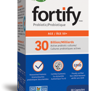 Nature's Way 11650 Fortify 50+ Probiotic 30 Capsules Canada