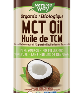 Nature's Way Canada - 100% MCT Oil From Coconut 480 ml Canada
