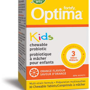 Nature's Way 31305 Fortify™ Optima™ Kids Probiotic, Orange 30 Tablets Canada