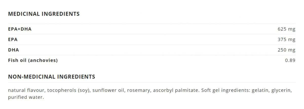NutraSea® Omega-3 Liquid Gels, Fresh Mint Canada Ingredients