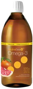 NutraSea+D™ Omega-3, Grapefruit Tangerine | 500 ml Liquid