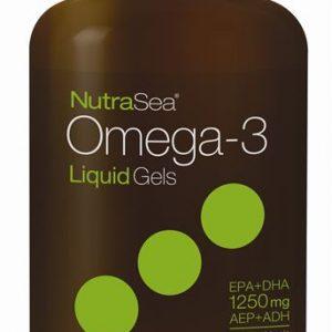 NutraSea® Omega-3 Liquid Gels, Fresh Mint | 150 Softgels