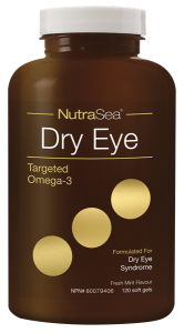 NutraSea Dry Eye Targeted Omega-3, Fresh Mint | 120 Softgels