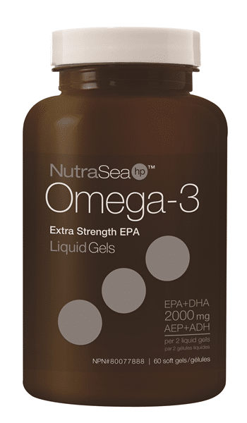 NutraSea HP Omega-3 Liquid Gels Fresh Mint 60 softgels Canada