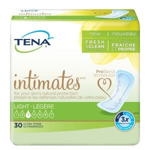 Tena 46500 Intimates Light Ultra Thin Pads Regular Canada