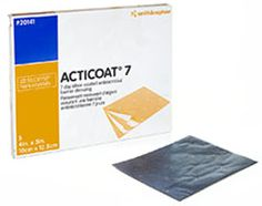 Smith & Nephew Canada - Acticoat 7 Silver-Coated Antimicrobial Barrier Dressing