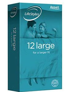 Lifestyles AN 1111 Lubricated Condoms Canada