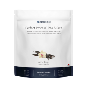 Metagenics Perfect Protein Pea & Rice - Vanilla Powder Canada